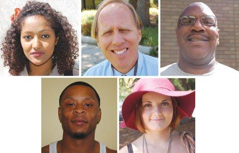 Bilisuma Achamyleh, Jim Fasulo ,Marvin Inglish , Tamir Polk, Sierra Dawson all recall Martin Luther King's famous 'I Have A Dream' speech.