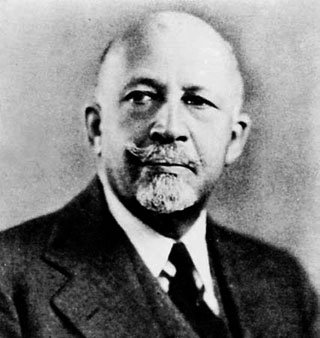 "William Edward Burghardt ""W. E. B."" Du Bois, a sociologist, historian, civil rights activist, Pan-Africanist, author and editor died the ..."