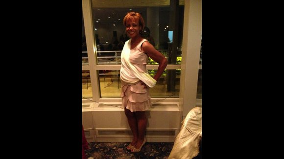 """Kia Horton was thin as a little girl. """"Like fit your fingers around (my) ankles skinny,"""" she recalls. But at ..."""