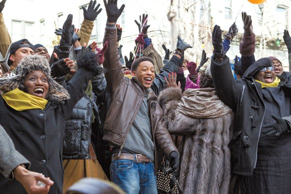 "The cast of ""Black Nativity."""