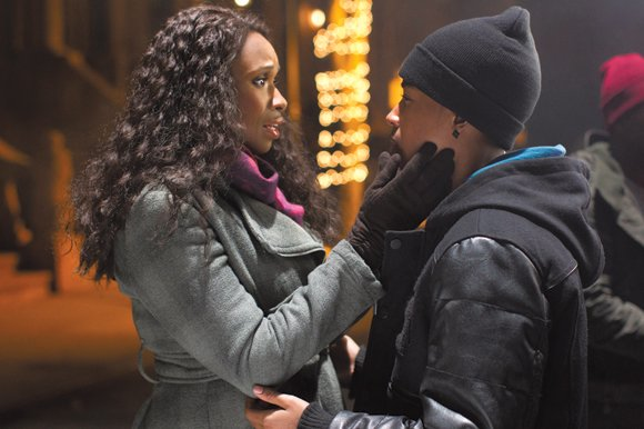 "Jennifer Hudson and Jacob Latimore star in ""Black Nativity."""