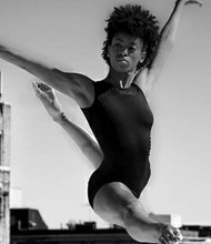 Maryland native Aubree Brown began her dance career at the Baltimore School for the Arts. She is a member of Ailey II, Alvin Ailey's American Dance Theatre.