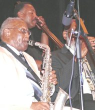 Tony Williams, national recording artist, saxophonist and retired teacher from the Philadelphia School System is the founder and producer of the Annual Tony Williams Scholarship Jazz Festival. He is an all around musician, a mentor and an advocate of young people in the music field. He is responsible for the introduction of jazz to the many young students who have passed through the Mount Airy Cultural Center's doors in Philadelphia.