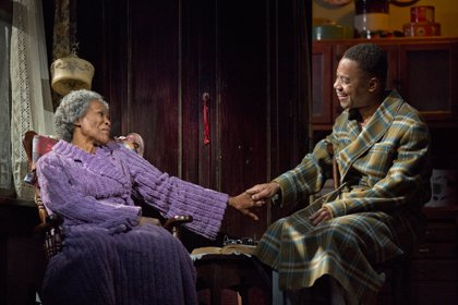 """""""The Trip to Bountiful"""" is like nothing you have seen on Broadway. And yet, like all good art, it is ..."""