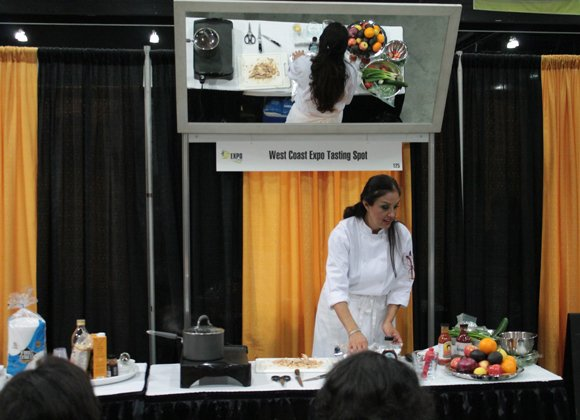 Visit Chef Barbie Flores at the Tasting Spot at the West Coast Expo this Friday, September 27 and Saturday, September 28 at the Los Angeles Convention Center.