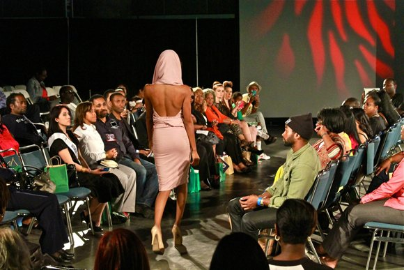 Flirty, flaring fashions kept the audience at the West Coast Expo entertained and intrigued.