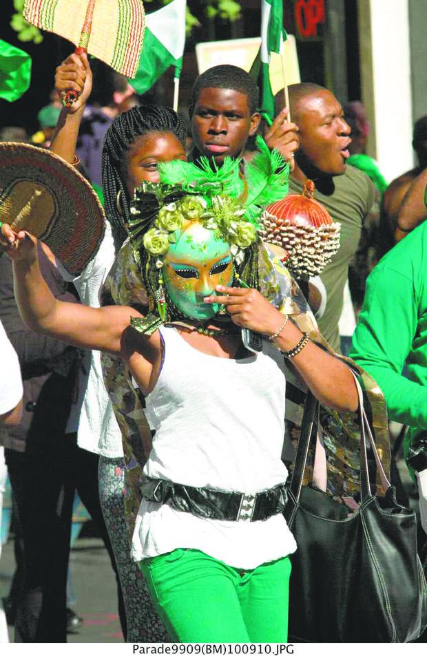Nigerians celebrate independance day