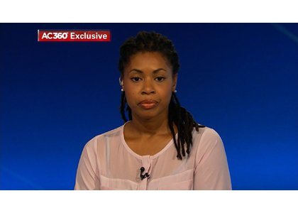 Amy Carey, the sister Miriam Carey, the woman authorities say rammed a barricade at the White House and then led police on a high-velocity chase through the heart of the nation's capital, spoke to CNN's Anderson Cooper Friday night, October 4, 2013.
