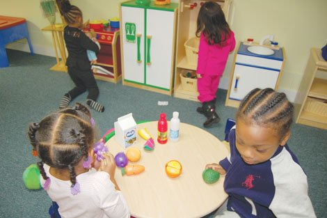 Kids enrolled in the Albina Head Start program continue their activities while Congress debates funding for government programs. The 48-year-old Portland program is under the threat of shutting down for the year, if Congress does not reach an agreement by the end of the month.