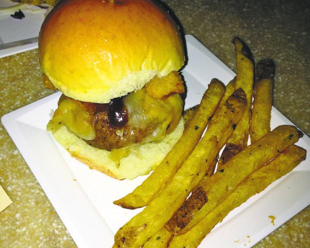 Riverbank Grill food