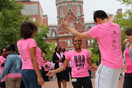 Johns Hopkins University School of Medicine and the Plastic, Reconstructive and Aesthetic Surgery Department helped to spread the word about breast cancer and the options patients have during Breast Reconstruction Awareness Day on Wednesday, October 16, 2013.