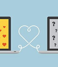 One in six recently married couples meet on an online dating site, according to a study commissioned by Match.com in 2009. That year, more than twice as many marriages occurred between people who met on an online dating site than between people who met in bars, clubs and other social events, the study reported.