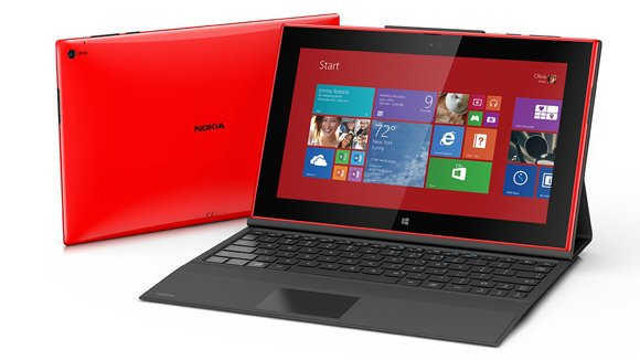 Nokia is getting into the tablet business. The company announced a new 10-inch tablet called the Lumia 2520 on Tuesday ...
