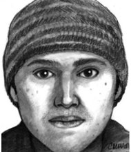 Torrance police hope a composite sketch released today will flush out the man driving a gray new-model four-door Honda who tried to coerce a 16-year-old girl walking to high school to get in his car.