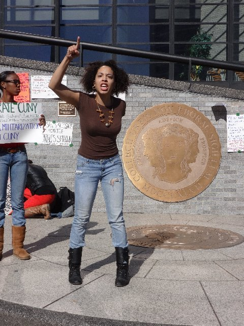Students at City College of New York are in complete outrage. Last Saturday, over 150 CCNY students paraded the campus ...