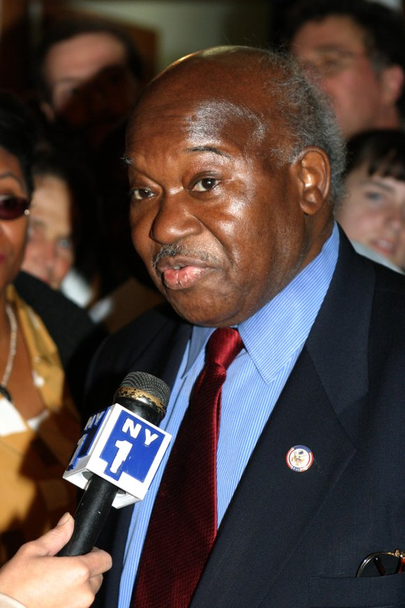 News broke of the Monday night passing of former Rep. Major R. Owens on Oct. 21