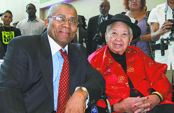 Carrie M. Thomas turned 100 years old on Tuesday, Sept. 10 in Harlem, on Thursday, Oct. 3, she passed peacefully
