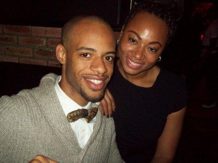 Celebrity publicist Terrell Everett and Iman