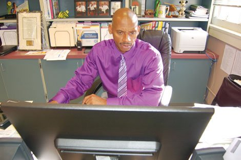 Benson High School's new principal, Curtis Wilson Jr., takes aim at returning 'vigor and excellence' to the school's technical education programs.