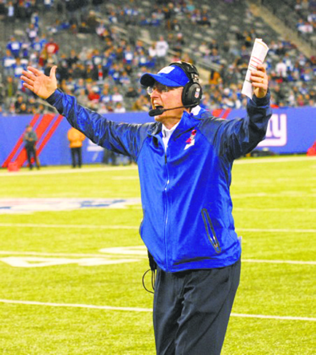 Tom Coughlin has his Giants on an upward move to playoff land