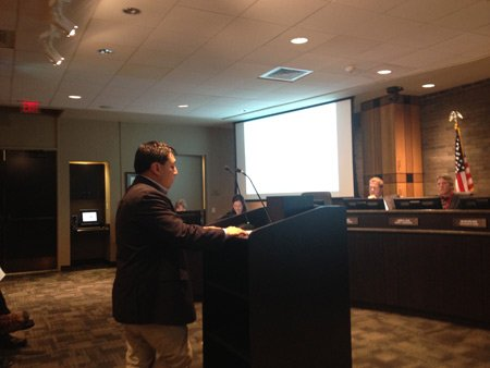 Richard Rodriguez told the Joliet City Council on Monday that an eight-district council would provide better representation for all residents.