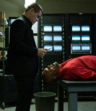 "Josh Brolin and Samuel L. Jackson star in Spike Lee's ""Oldboy."""