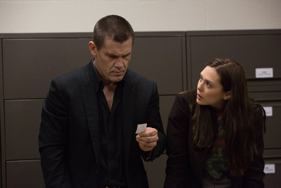 "Josh Brolin and Elizabeth Olsen star in Spike Lee's ""Oldboy."""