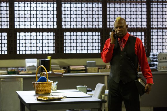 "Samuel L. Jackson stars in Spike Lee's ""Oldboy."""