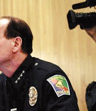 Bell's former police chief Randy Adams testifies in court