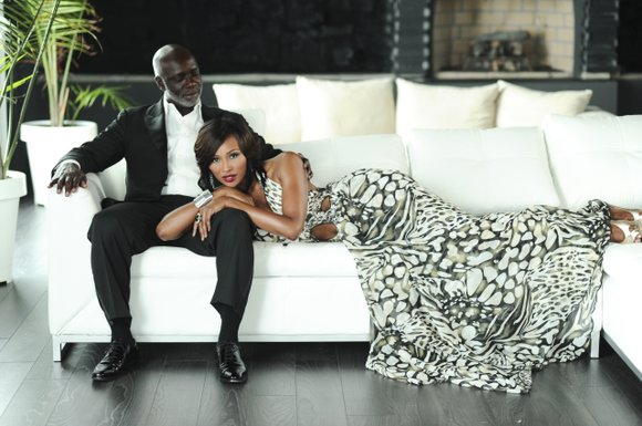 """Married stars of """"Real Housewives of Atlanta,"""" Cynthia Bailey Thomas and Peter Thomas set out to write their joint memoir ..."""