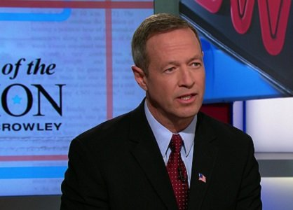 "Former Maryland Gov. Martin O'Malley took a major shot at Hillary Clinton on Sunday, saying the country needs a ""new ..."