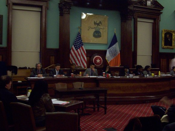 The City Council's Committee on Civil Rights and Committee on Oversight and Investigation held a hearing Wednesday at City Hall ...