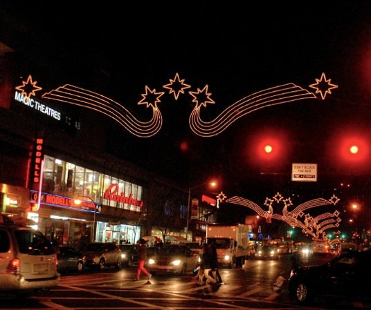 Harlem's 125th Street is all aglow thanks to the 125th Street Business Improvement District (BID)