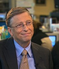 Bill Gates, chairman of Microsoft and co-chair of the Bill and Melinda Gates Foundation.