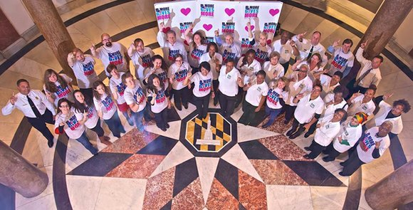 At least 15 businesses and nonprofits are doing more than just encouraging Charm City residents to open their hearts and ...