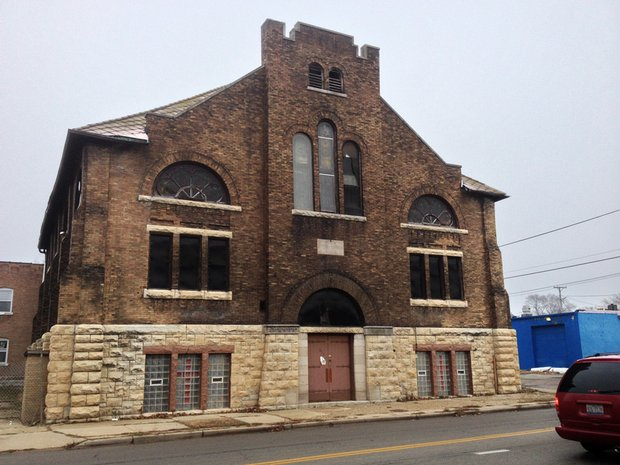 A wrecking crew is getting ready to demolish this church on Joliet's East Side at 353 E. Jackson.
