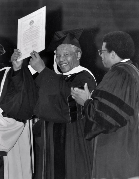 Among the many accolades and accomplishments of the great Nelson Mandela is an Honorary Degree from Texas Southern University. He ...