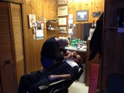 Jim Mottl Jr. owns Smith's Barber Shop at 809 S. State Street in Lockport's downtown.
