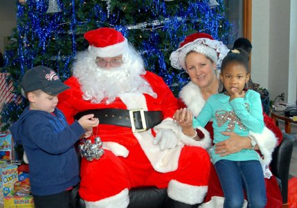 The General Motors Operations facility in White Marsh hosted a Breakfast with Santa and Mrs. Claus on Saturday, December 7 ...