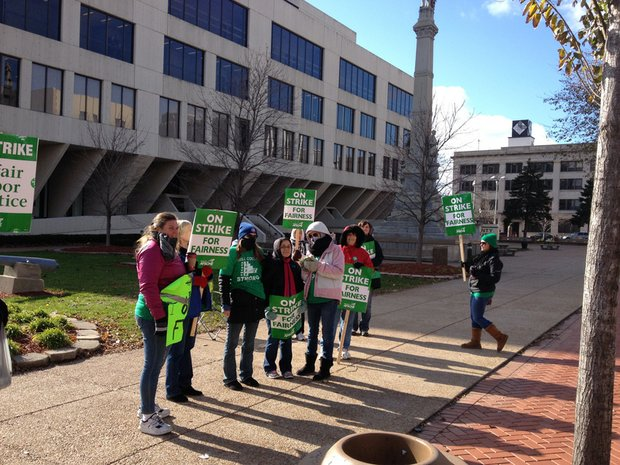 Will County union workers walked the picket lines for nearly two weeks until terms of a new contract were reached with county board leaders.
