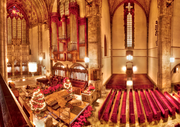 Massachusetts Gov. and South Side native Deval Patrick will deliver the keynote address at the University of Chicago's (U of C) Martin Luther King Celebration at 6 p.m. on Wednesday, Jan. 15, 2014 in Rockefeller Memorial Chapel, pictured here.