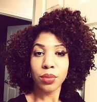 Amber using The Palm Tapioca Deluxe Hair Cream