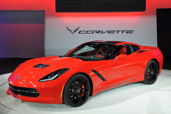 The Chevrolet Corvette Stingray has won Car of the Year honors at the Detroit auto show, while the Chevrolet Silverado ...