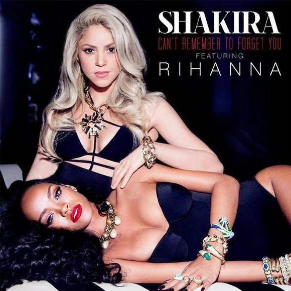 """Stream the brand new single from Rihanna & Shakira, """"Can't Remember To Forget You"""" from Shakira's upcoming new album."""