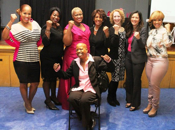 Congresswoman Maxine Waters (CA-43), a longtime advocate of breast cancer awareness, education and research, showed support for urban women and ...