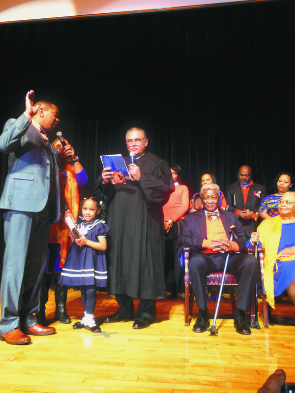 More than 700 people packed a Bronx high school auditorium Sunday afternoon to attend an electrifying inauguration celebration of New ...