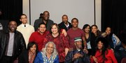 Families of political prisoners at the 18th annual Dinner Tribute to Our Political Prisoners and Prisoners of War