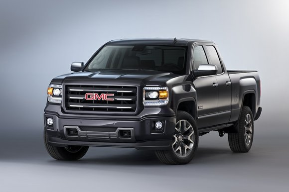 The 2014 Chevrolet Silverado 1500 and High Country and the GMC Sierra and Sierra Denali 1500, available this fall, with ...