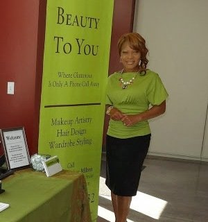 """Fort Bend resident Jacqueline Majors-Milton, was a winner of $5,000.00 for funding for her business """"Beauty To You"""" at the ..."""