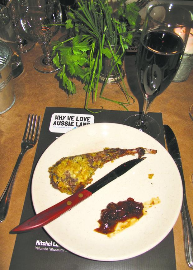 Petite chop and Paringa